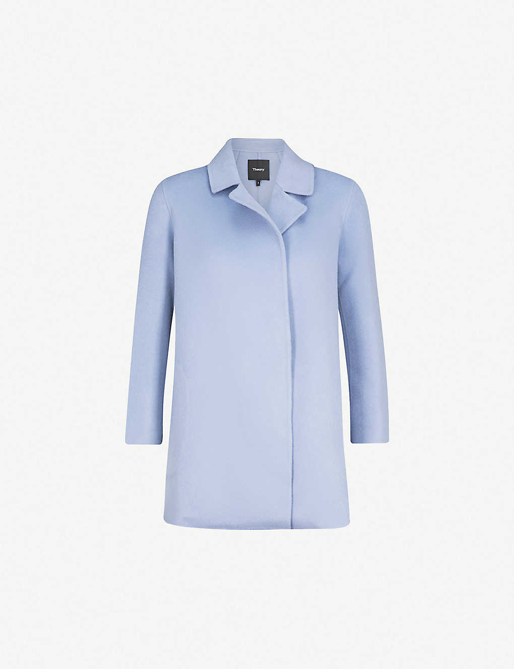 b31e8173a3 THEORY - Clairene open-front wool and cashmere-blend jacket | Selfridges.com