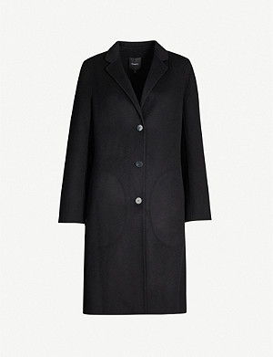 THEORY Classic notch-lapel wool and cashmere-blend coat