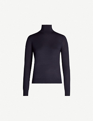 THEORY Regal wool-blend jumper