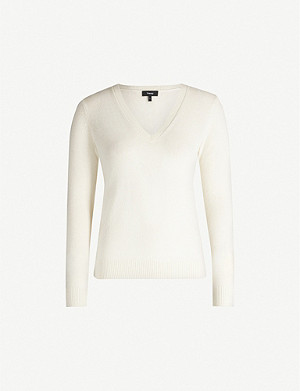 THEORY V-neck cashmere jumper