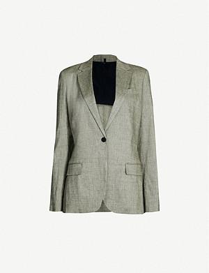 3db56b4382 THEORY - Lanai stretch-wool blazer | Selfridges.com