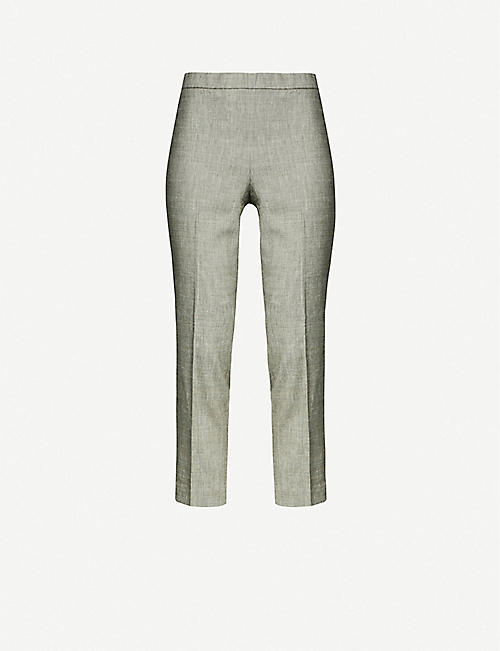 1d4fb920301a7 THEORY - Trousers - Clothing - Womens - Selfridges | Shop Online