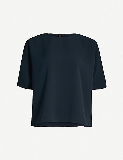 448c0010eda4fa THEORY - Tops - Clothing - Womens - Selfridges | Shop Online