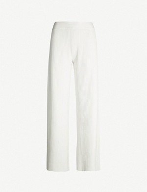 THEORY Lounge stretch-jersey trousers