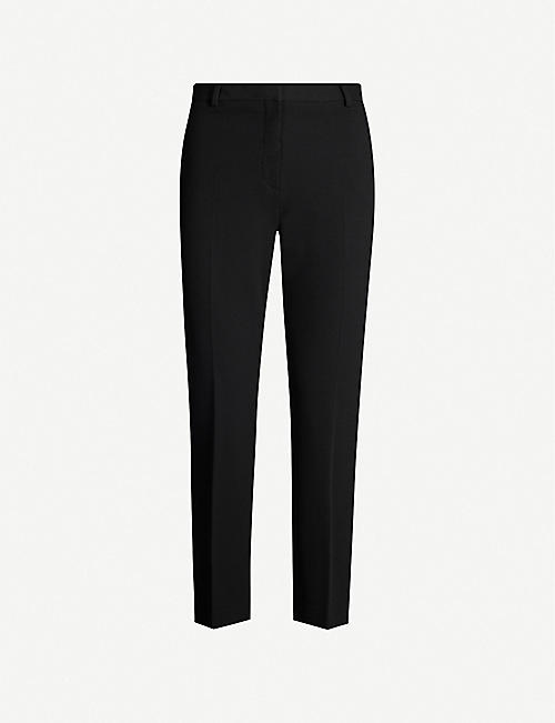 THEORY High-rise tailored woven trousers