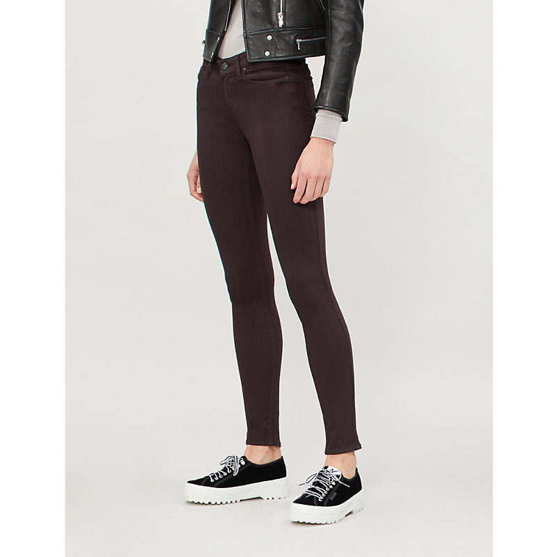 PAIGE | Verdugo Mid-Rise Ultra-Skinny Jeans | Goxip