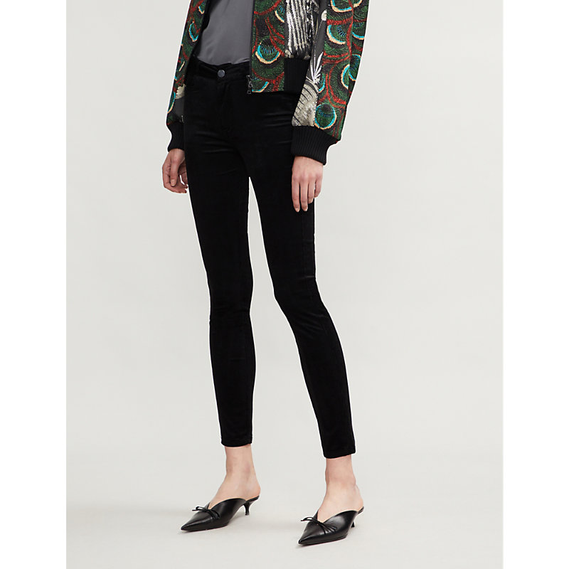 PAIGE | Hoxton Skinny High-Rise Cord Jeans | Goxip