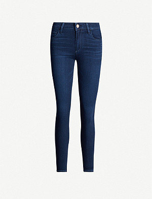 PAIGE Verdugo ankle-grazer skinny mid-rise jeans