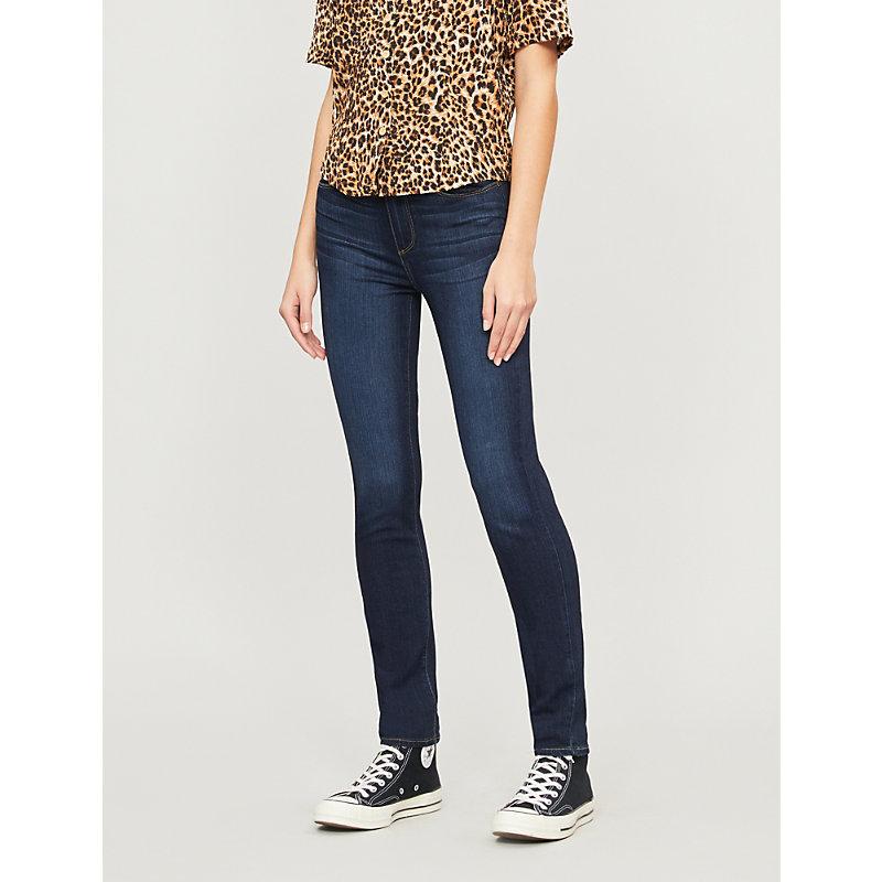 PAIGE | Paige Denim Hoxton Skinny High-Rise Jeans 23, Hartman | Goxip