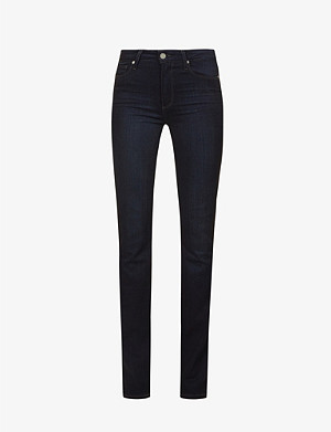 PAIGE Hoxton high-rise slim-fit jeans