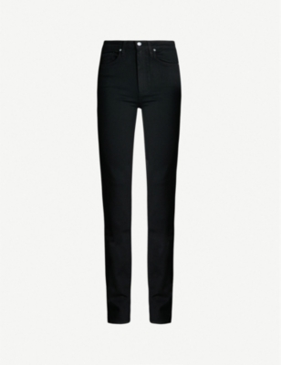 PAIGE Hoxton straight high-rise jeans