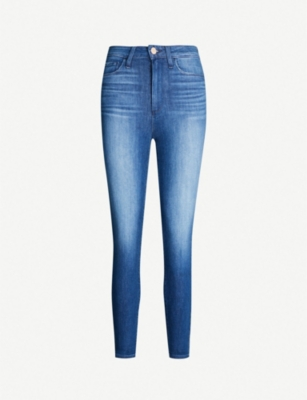PAIGE Margot super-high rise cropped jeans