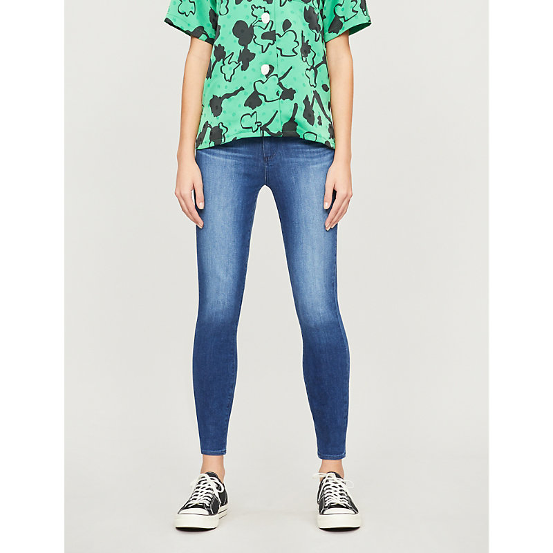 PAIGE | Margot Super-High Rise Cropped Jeans | Goxip