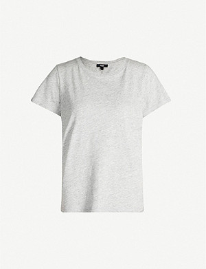 PAIGE Ellison round-neck cotton and modal-blend T-shirt
