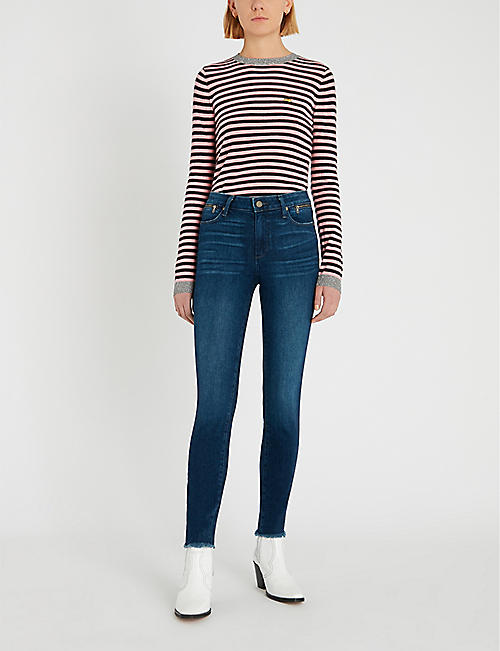 PAIGE Hoxton high-rise skinny jeans