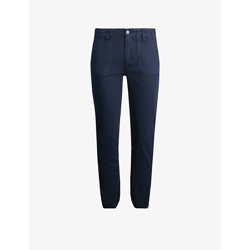 PAIGE | Mayslie Mid-Rise Woven Tapered Jogging Bottoms | Goxip