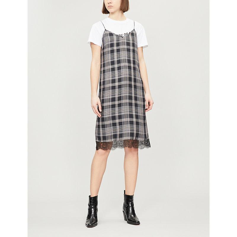 PAIGE | Nereyda Woven Slip Dress | Goxip