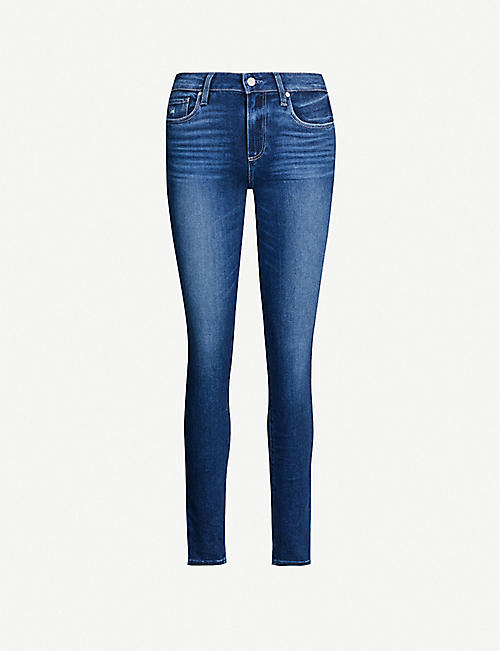 PAIGE: Verdugo Ultra Skinny high-rise jeans