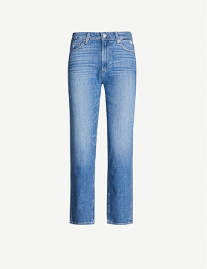 PAIGE Noella straight high-rise jeans