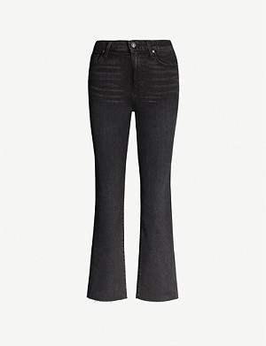 PAIGE Atley flared high-rise jeans