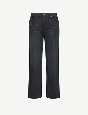 PAIGE Nellie Culotte wide-leg high-rise trousers