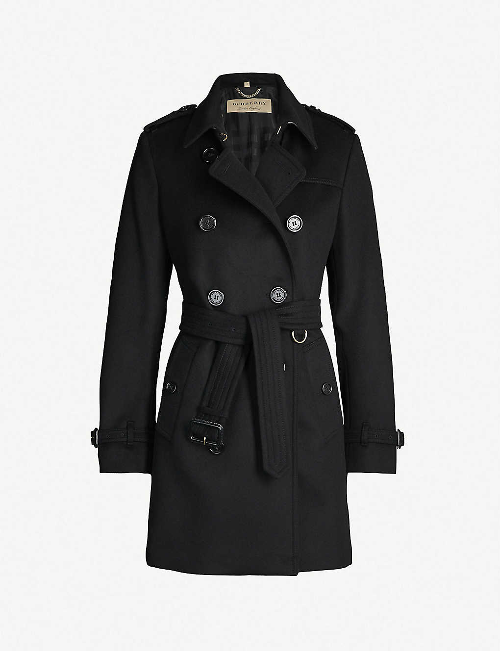 BURBERRY: The Kensington Heritage wool and cashmere-blend coat