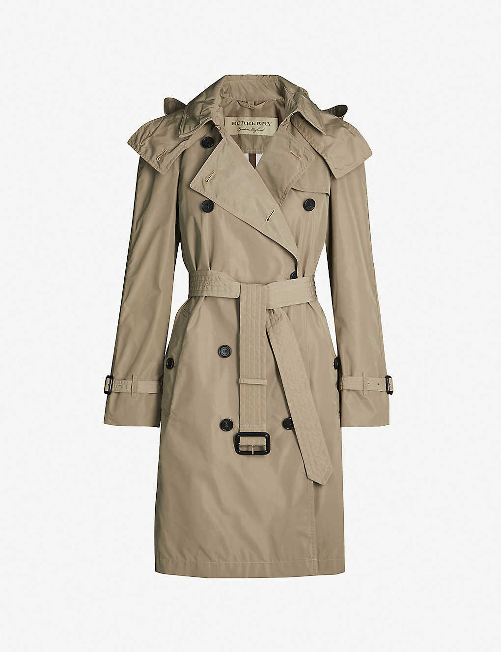 84909bbec5e0 BURBERRY - Amberford cotton trench coat