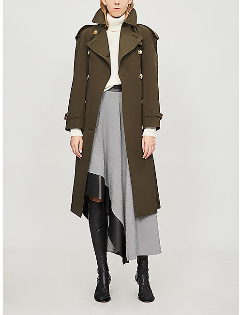 BURBERRY The Westminster Heritage long cotton trench coat