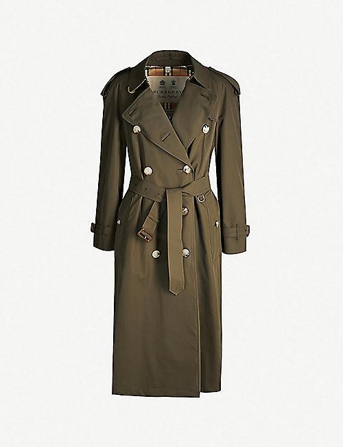c154122ebb7d3 BURBERRY - Trench coats - Coats - Coats & jackets - Clothing ...