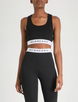 871dc26533dc6 BURBERRY - Betwa stretch-jersey crop top