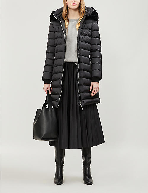 BURBERRY Limehouse hooded shell-down puffer coat