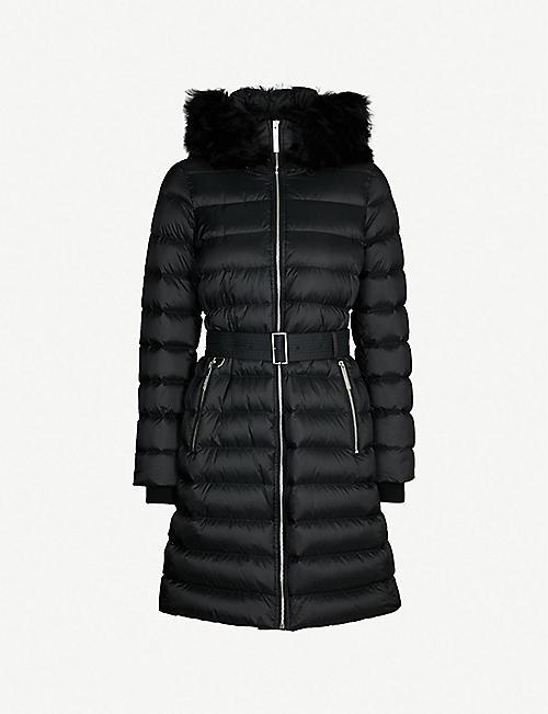 81676c814 BURBERRY - Limehouse hooded shell-down puffer coat | Selfridges.com