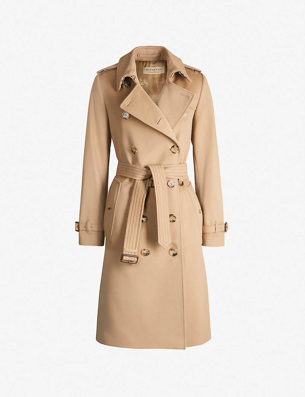 2b9531ec The Kensington Heritage long cotton trench coat