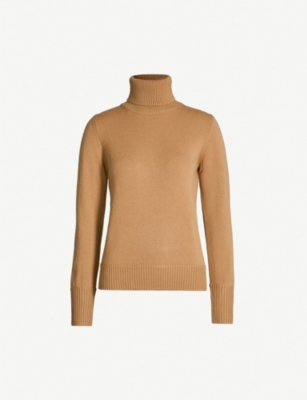 BURBERRY Turtleneck cashmere jumper