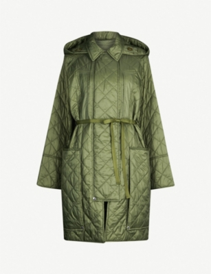 BURBERRY Coleraine quilted shell coat