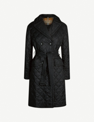 BURBERRY Horberie quilted shell coat