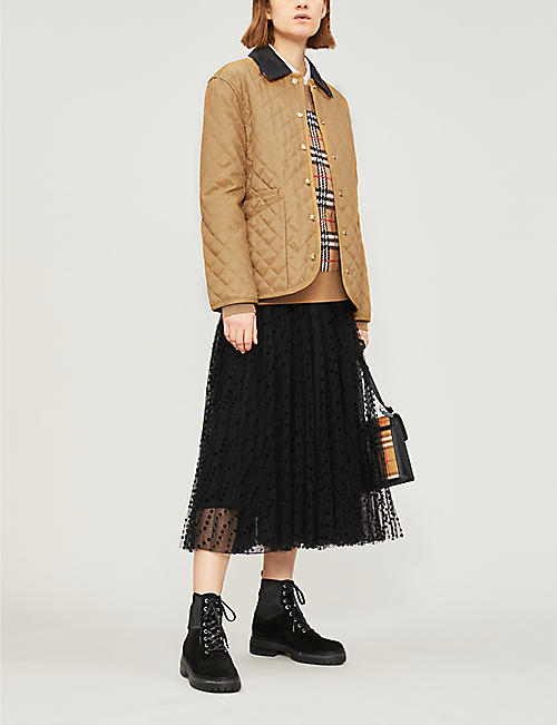 BURBERRY Dranefeld quilted coat