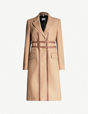 BURBERRY Callington belted wool trench coat
