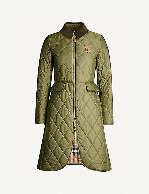 7b76c3a8917bf BURBERRY - Coats & jackets - Clothing - Womens - Selfridges | Shop ...