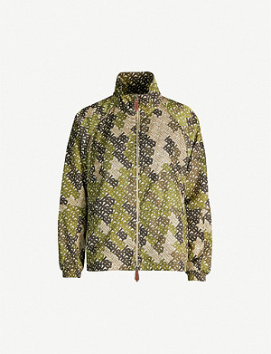 BURBERRY Camouflage Monogram-print shell jacket
