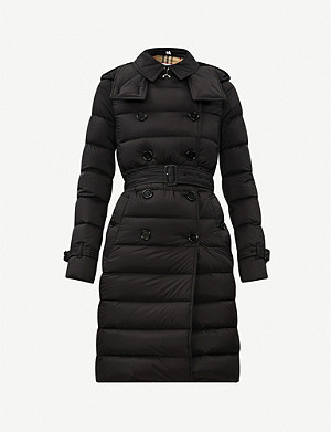 BURBERRY Arniston hooded shell-down coat