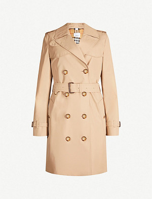 BURBERRY Islington cotton trench coat