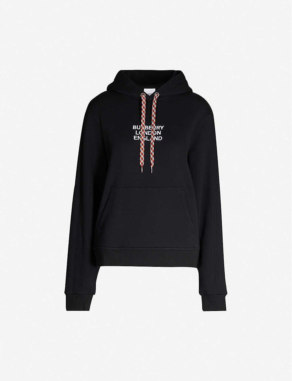 BURBERRY: Poulter brand-embroidered cotton-jersey hoody