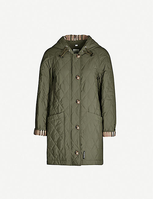 BURBERRY Roxwell quilted shell jacket