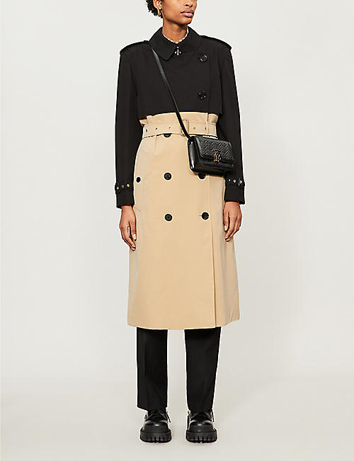 BURBERRY Deighton double-breasted cotton coat