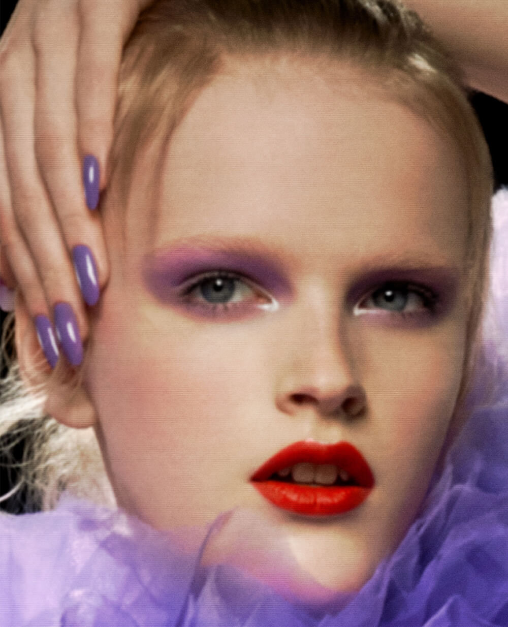 80e3455a803 Hannah Motler wears PAT McGRATH LABS – Mothership III Eyeshadow Palette  Subversive, Mothership I Eyeshadow Palette Subliminal, FetishEyes Mascara,  ...