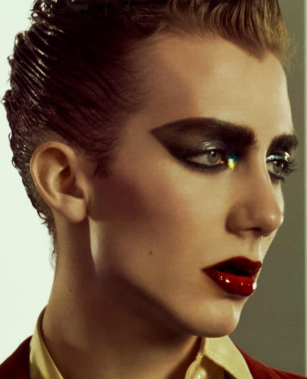 fa1f4857730 Paul Hameline wears PAT McGRATH LABS – Mothership I Eyeshadow Palette  Subliminal, Skin Fetish: Highlighter & Balm Duo, Permagel Ultra Glide Eye  Pencil, ...