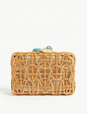 Aranaz clutch bag