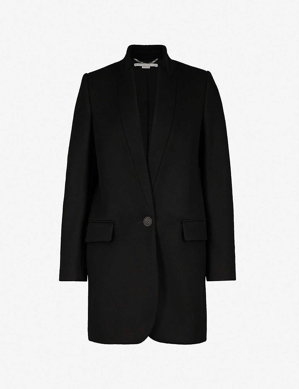 Stella Mccartney Coats Bryce wool-blend coat