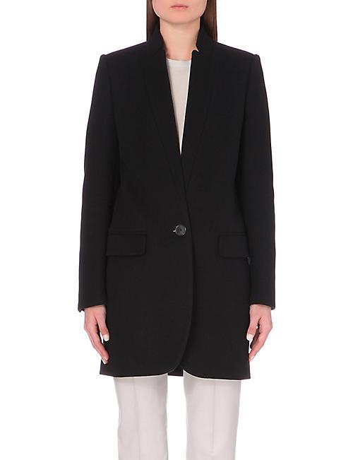 e0a3629f00802 STELLA MCCARTNEY - Bryce wool-blend coat | Selfridges.com